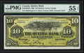 Canadian Currency: , Quebec, PQ- The Quebec Bank $10 June 1, 1908 Ch. # 620-48-04-04....