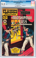 Golden Age (1938-1955):Classics Illustrated, Classics Illustrated #74 Mr. Midshipman Easy - Original Edition (Gilberton, 1950) CGC FN- 5.5 Cream to off-white pages....