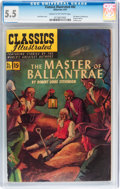 Golden Age (1938-1955):Classics Illustrated, Classics Illustrated #82 The Master of Ballantrae Original Edition (Gilberton, 1951) CGC FN- 5.5 Cream to off-white pages....
