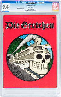 Die Gretchen #nn (Speleo Press, 1973) CGC NM 9.4 White pages