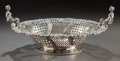 Silver Holloware, British:Holloware, A WILLIAM COMYNS & SONS GEORGE V RETICULATED SILVER CENTERBOWL. William Comyns & Sons, London, England, circa 1915-16.Mark...