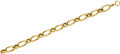 Estate Jewelry:Bracelets, A GOLD BRACELET. The 14k gold bracelet with 10k gold clasp weighs15.10 grams.. Dimensions: 7-1/2 inches x 7/16 inch. ...
