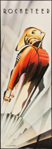 "Movie Posters:Action, The Rocketeer (Walt Disney Pictures, 1991). German Door Panel (19""X 54""). Action.. ..."