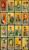 Baseball Cards:Lots, 1909-11 T206 White Borders Group (16) - St. Louis Browns andCardinals. ...