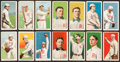 Baseball Cards:Lots, 1909-11 T206 White Borders Group (14) - Boston NL and AM. ...
