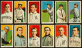 Baseball Cards:Lots, 1909-11 T206 White Borders Group (12) - Minor Leaguers. ...