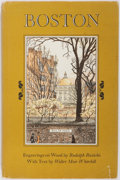 Books:Americana & American History, [Boston]. Walter Muir Whitehill. SIGNED/INSCRIBED. Boston:Distinguished Buildings and Sites Within the City and itsOrb...