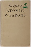Books:Science & Technology, [Atomic Bomb]. U. S. Department of Defense and The U. S .Atomic Energy Commission. The Effects of Atomic Weapons. Lo...