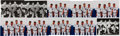 Baseball Collectibles:Photos, 1960's New York Yankees Infield Signed Photographs Lot of 10....