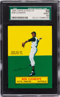 Baseball Cards:Singles (1960-1969), 1964 Topps Stand-Up Roberto Clemente SGC 92 NM/MT+ 8.5 - Pop 7, TwoHigher! ...
