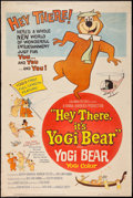 """Movie Posters:Animation, Hey There, It's Yogi Bear (Columbia, 1964). Poster (40"""" X 60""""). Animation.. ..."""
