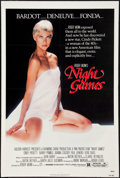 "Movie Posters:Sexploitation, Night Games (Avco Embassy, 1980). One Sheet (27.5"" X 40.25""),Trimmed Poster (25"" X 36"") and Lobby Cards (4) (11"" X 14""). Se...(Total: 6 Items)"
