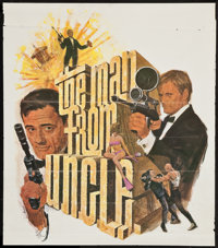"""The Man from U.N.C.L.E. (NBC, 1966). Special Television Poster (21"""" X 24""""). Action"""