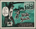 "Movie Posters:Exploitation, Wild Youth (Cinema Associates, Inc., 1960). Half Sheet (22"" X 28"").Exploitation.. ..."