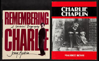 """Remembering Charlie by Jerry Epstein & Other Lot (Doubleday, 1989). Hardcover Books (2) (Various Pages, 10.25""""..."""