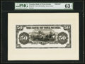 Canadian Currency: , Halifax, NS- The Bank of Nova Scotia $50 Jan. 2, 1925 Ch. #550-28-28P Face Proof . ...