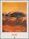 "Movie Posters:Science Fiction, Star Tours (Disney, 1986). Poster (18"" X 24"") Bespin. ScienceFiction.. ..."