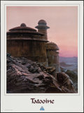 """Movie Posters:Science Fiction, Star Tours (Disney, 1986). Poster (18"""" X 24"""") Tatooine. ScienceFiction.. ..."""