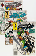 Modern Age (1980-Present):Superhero, The Amazing Spider-Man Group (Marvel, 1987-90) Condition: AverageNM-.... (Total: 30 Comic Books)