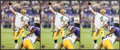Football Collectibles:Photos, Brett Favre Signed Photographs Lot of 3 - Record Breaking 421 TD Image....