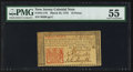 Colonial Notes:New Jersey, New Jersey March 25, 1776 18d PMG About Uncirculated 55.. ...