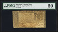 Colonial Notes:Maryland, Maryland April 10, 1774 $4 PMG About Uncirculated 50.. ...