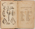Books:Natural History Books & Prints, Elizabeth Mayo. Lessons on Shells, as Given in a Pestalozzian School. New York: Hill, 1834. Small 18mo. 218 pages. 1...