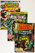 Bronze Age (1970-1979):Horror, Marvel Bronze Age Horror Comics Group (Marvel, 1970-75) Condition:Average VF.... (Total: 10 Comic Books)