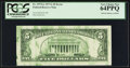 Error Notes:Ink Smears, Fr. 1975-G $5 1977A Federal Reserve Note. PCGS Very Choice New64PPQ.. ...