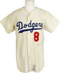 Autographs:Jerseys, Reggie Smith Signed Jersey. The switch-hitting slugger Reggie Smithwas beloved during his time with the Los Angeles Dodger...