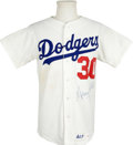 Autographs:Jerseys, Maury Wills Signed Jersey. The five-time All-Star, which includesgame MVP honors in 1962, Maury Wills has applied a boomin...