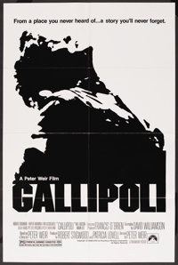 "Gallipoli (Paramount, 1981). One Sheet (27"" X 41""). War"