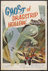 "Ghost of Dragstrip Hollow (American International, 1959). One Sheet (27"" X 41""). Cult Classic"