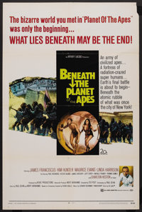 "Beneath the Planet of the Apes (20th Century Fox, 1970). One Sheet (27"" X 41""). Science Fiction"