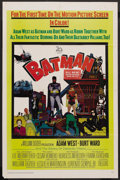 "Movie Posters:Action, Batman (20th Century Fox, 1966). One Sheet (27"" X 41""). Action. ..."