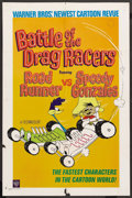 "Movie Posters:Animated, Battle of the Drag Racers: Road Runner vs. Speedy Gonzales (Warner Brothers, 1966). One Sheet (27"" X 41""). Animated. ..."