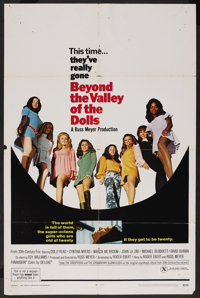 "Beyond the Valley of the Dolls (20th Century Fox, 1970). One Sheet (27"" X 41""). Bad Girl"