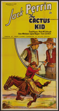 "Movie Posters:Western, The Cactus Kid (Reliable Pictures Corp., 1935). Three Sheet (41"" X 81""). Western. ..."