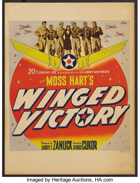 Image result for Winged Victory 1944