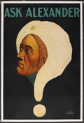"""Movie Posters:Miscellaneous, Ask Alexander Poster (Various, 1920s). Magic Poster (27.5"""" X 41.5""""). Miscellaneous...."""