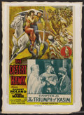 "Movie Posters:Serial, The Desert Hawk (Columbia, 1944). One Sheet (27"" X 41"") Chapter 15 -- ""The Triumph of Kasim."" Serial. ..."