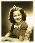"Movie/TV Memorabilia:Autographs and Signed Items, Shirley Temple Signed 8"" X 10"" Picture to Emile LaVigne. A lovely8"" x 10"" matte finish portrait of Shirley Temple, circa 19...(Total: 1 Item)"