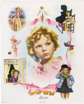 Movie/TV Memorabilia:Autographs and Signed Items, Shirley Temple Signed Poster (Nostalgia Merchant, 1977). The quintessential child star, Shirley Temple appeared in countless... (Total: 1 Item)