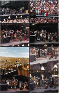 "Music Memorabilia:Photos, Grateful Dead Silver Bowl Concert Photos. Set of eight rare color11"" x 14"" photos taken during the Dead's May 19, 1995 conc...(Total: 1 Item)"