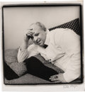 "Movie/TV Memorabilia:Photos, Divine Photo by Peter Hujar. A b&w 16"" x 17.5"" photo of HarrisGlenn Milstead, aka Divine, the late actor who collaborated w...(Total: 1 Item)"