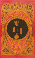 Music Memorabilia:Posters, Jefferson Airplane Fillmore Concert Poster BG-63 (Bill Graham,1967). This gothic-tinged advertisement for a Jefferson Airp...(Total: 1 Item)