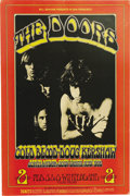 Music Memorabilia:Posters, Doors Winterland Concert Poster BG-219 (Bill Graham, 1970). Themagnificent Doors, featuring Jim Morrison, appeared for per...(Total: 1 Item)