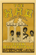 "Music Memorabilia:Posters, Who and Iron Butterfly Memorial Auditorium Handbill (1968). From aJuly 8, '68 show. Measures 5 1/2"" x 8 1/2"". In NM- condit...(Total: 1 Item)"