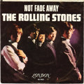 """Music Memorabilia:Recordings, Rolling Stones """"Not Fade Away""""/ """"I Wanna Be Your Man"""" 45 w/ Picture Sleeve (London 9657, 1964). The Stones' second single, b... (Total: 1 Item)"""