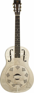 "Musical Instruments:Resonator Guitars, Peter Fonda's 1930 ""Style O"" National Resonator Guitar. This earlyNational resonator guitar comes straight from Peter's per...(Total: 1 Pieces Item)"